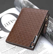 2016 news Zipper short mans wallet Father's day gift Valentine's day gifts Quality assurance