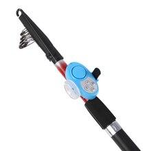 Outdoor Electronic Fishing Alarm Fish Bite Alarm Finder Sound Alert Running LED Clip on Fishing Rod Carp Fishing Tackle Outdoor