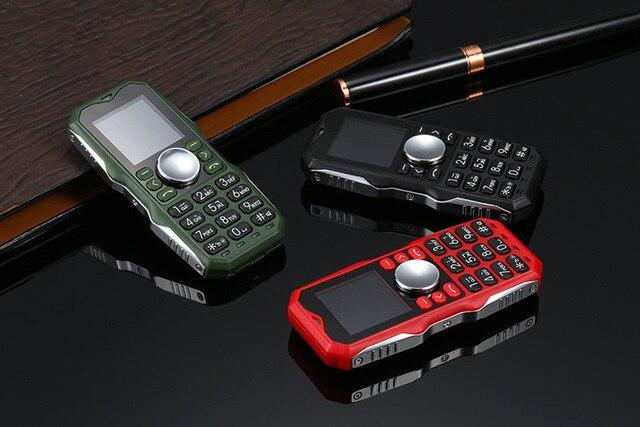 Новинка 2017 английская версия мини smart 2G LED ручной Непоседа счетчик телефон Металл 9 см 2 sim-карты светодиодные Spinner D11