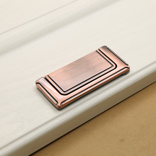10pcs Zinc Alloy Hidden Cabinet Door Handles 64mm Recessed Pull Handle Bedroom European Wardrobe Door Tatami Furniture Handle hot 10pcs stainless steel recessed invisible cup handle privacy hidden door locks cabinet pulls handle fire proof disk ring lock