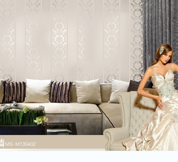 European non-woven wallpaper wall stickers Bedroom living room TV setting wall paper wallpaper the sand Classic stripes European european non woven wallpaper wall stickers bedroom living room tv setting wall paper wallpaper the sand classic stripes european