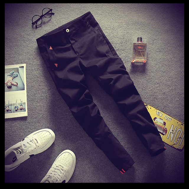 Spring Summer Pants Men 2016 Casual Ankle-Length Pants Man New Pencil Harem Pants Male Cotton Material JD804