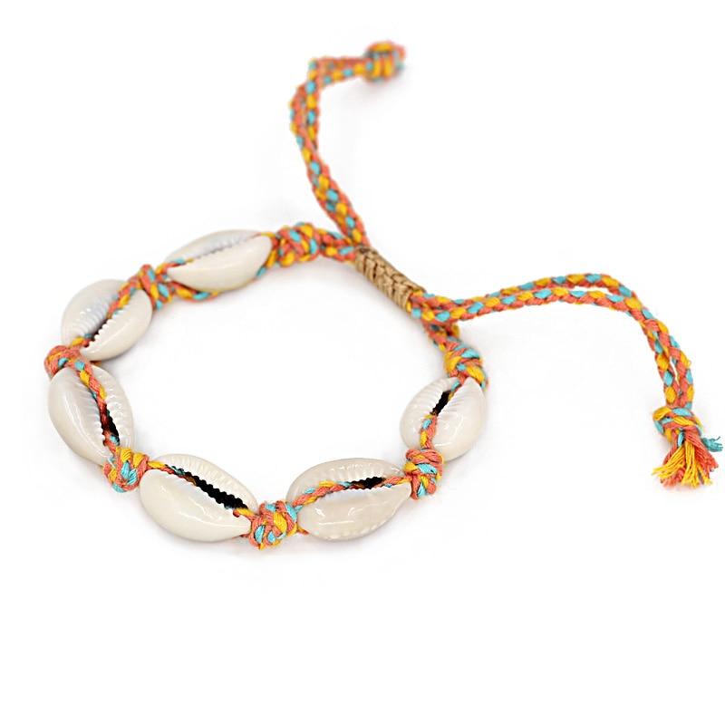 Bracelets Female Fashion Shell Jewelry Woman Accessories Handmade Beaded Friendship Strand Bracelet Gift for Girls