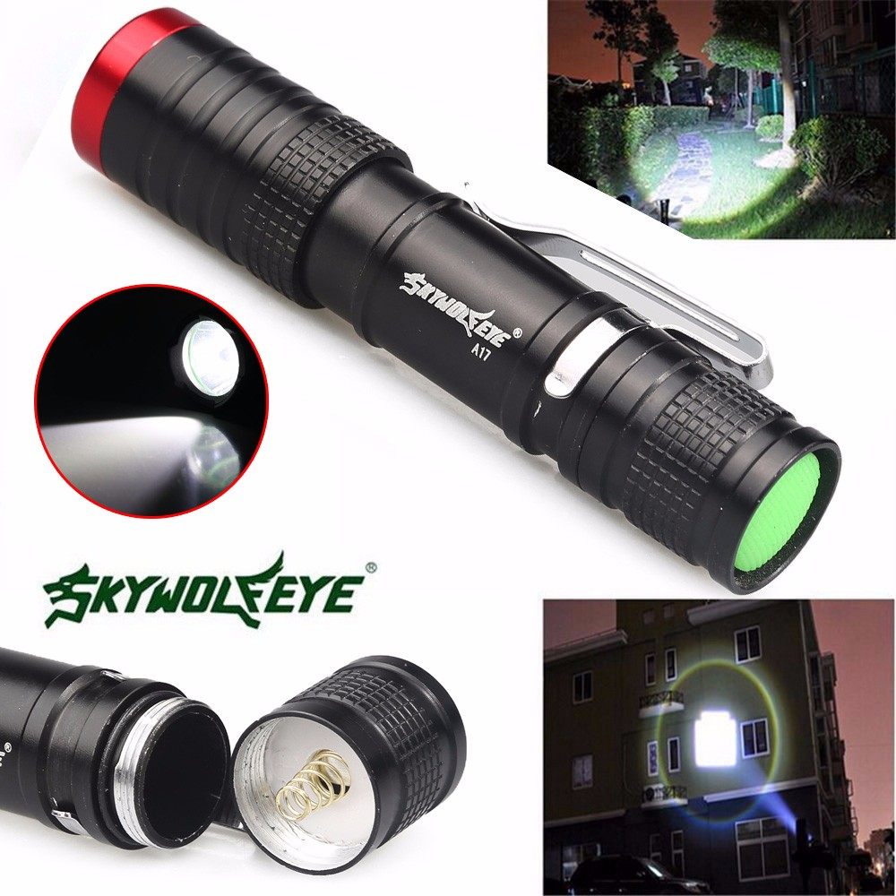 2018 New 3500 Lumens 3 Modes CREE XML XPE LED Flashlight Torch Lamp Light Outdoor