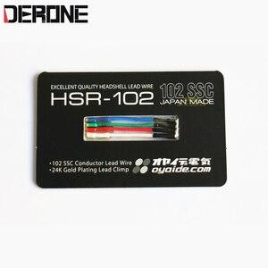 Image 1 - 1 piece oyaide 포노 카트리지 헤드 쉘 리드 와이어 턴테이블 단결정 구리 HSR 102 일본 제 송료 무료