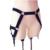 Harajuku punky gótico de Nylon elástico cintura Cincher arnés muslo ligueros tirantes