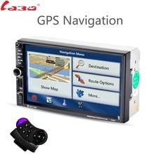 Labo 2din Новый универсальный автомобильный Радио двухместный автомобиль mp5 плеер GPS навигация в тире Автомобильные ПК стерео ВИДЕО Бесплатная Географические карты Электроника для автомобиля