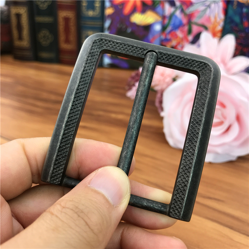 Vintage Belt Buckles For Men Pin Belt Buckle Leathercraft Diy Accessories Men Belt Metal Buckle Belt Clip Boucle AK0042B