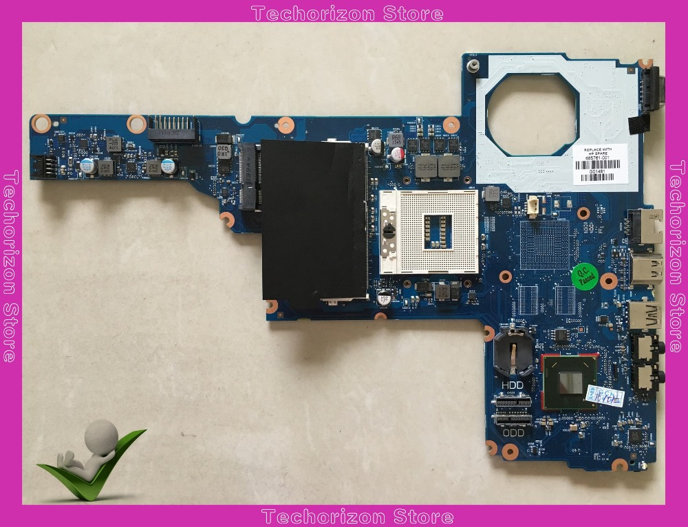 685761-001 685761-501 for HP 1000 CQ45-M Laptop Motherboard HM75  Mainboard system board tested working