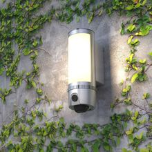Floodlight Security wifi Camera Motion-Detected HD1080P Wall-light security IP camera,Two-Way Talk with Siren Alarm