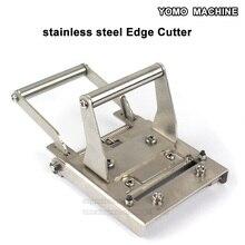 Coupe bordure métallique bois pvc bord bande fin dispositif de coupe pour courbe de coupe PVC droite et ronde
