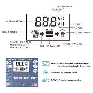 Image 5 - DOKIO elastyczny składany panel słoneczny dedykowany kontroler słoneczny do akumulatora 12V USB kontroler słoneczny 10A/20A kontroler słoneczny