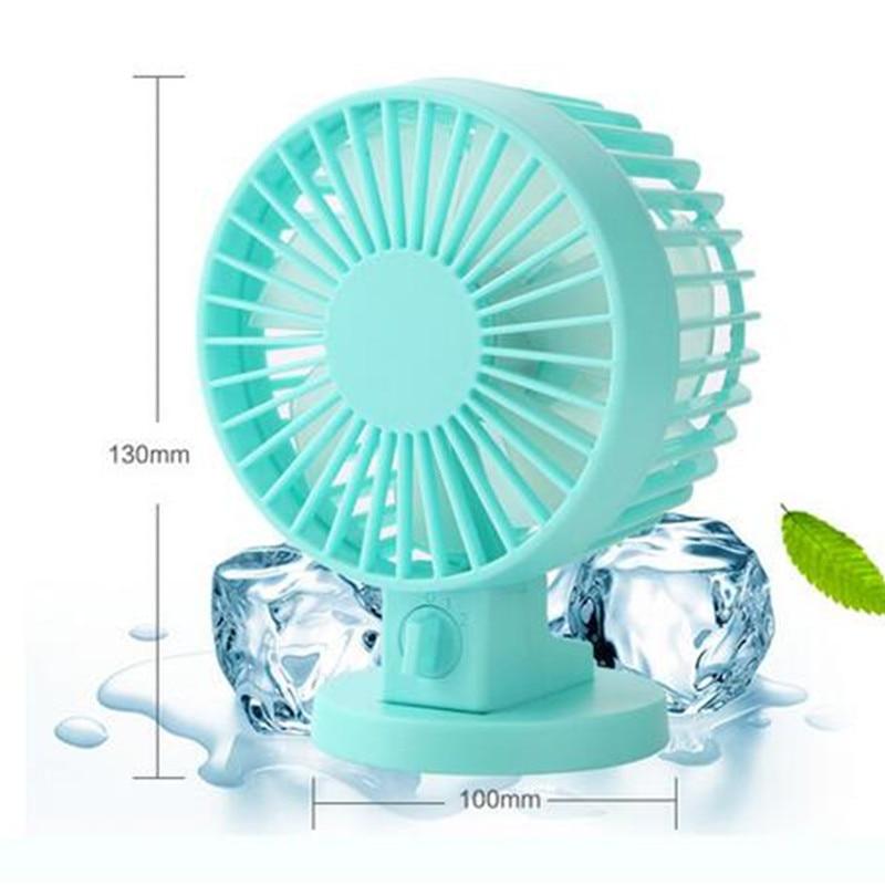Portable Mini USB Fan Fan Kreatif Home Office ABS Peminat Elektrik - Perkakas rumah - Foto 5