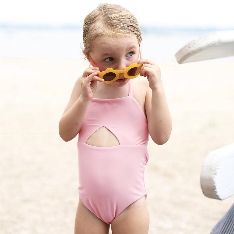 Summer Baby Romper Baby Girl Clothes Cotton Newborn Baby Clothes For Beach Swim Roupas Bebe Infant Jumpsuits Pink White