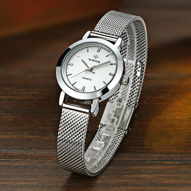 Ultra Thin Stainless Steel Quartz Watch