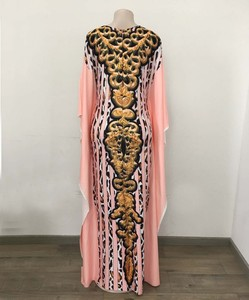 Image 5 - Afrykańska sukienka es dla kobiet 2019 odzież z afryki długa suknia islamska długość moda afrykańska sukienka dla pani