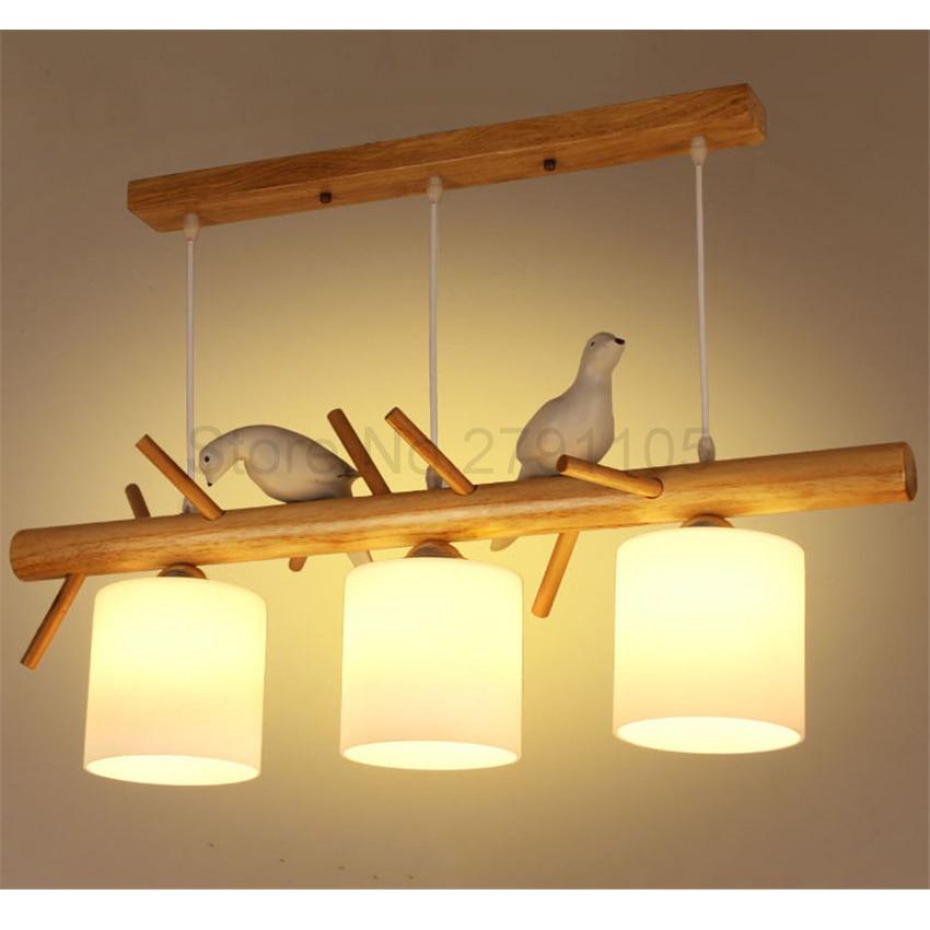 Modern Pendant Lamp Simple Restaurant Living Room Solid