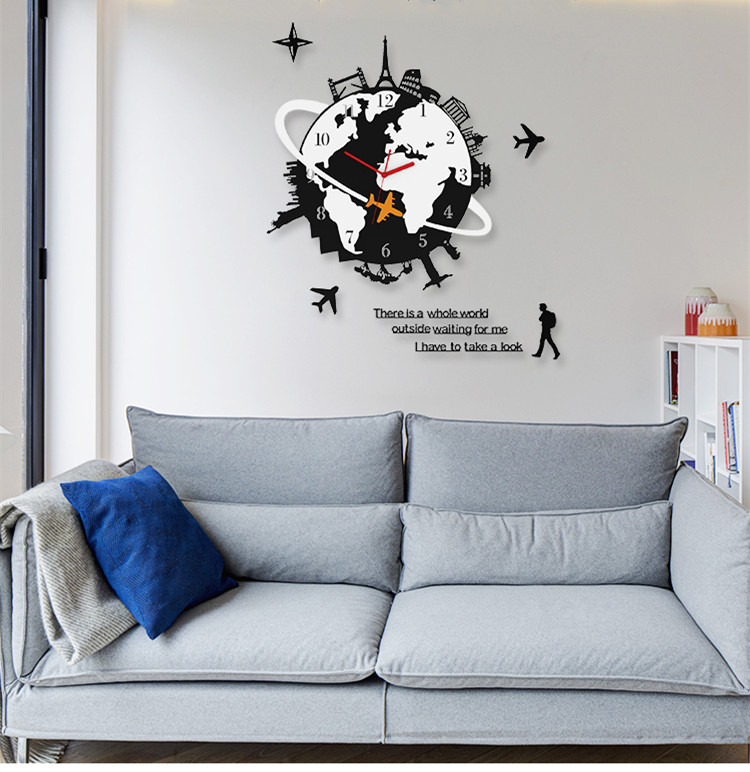 WALL CLOCK – RL05 ** FREE SHIPPING ** 1