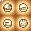 Светодиодные Настенные светильники 29 Вт AC110V 220 В  Современные Простые прикроватные Настенные светильники для помещений  акриловые настенны...