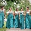 Robe demoiselle d'honneur Discount Bridesmaid Dresses 2015 Vestido De Festa Custom Made Long Special Occasion Dress Party Gowns