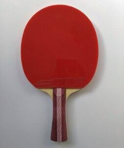Image 4 - オリジナルdhs 4002 4006卓球ラケット4つ星dhs完成ラケットにきびゴムで高速攻撃ループ