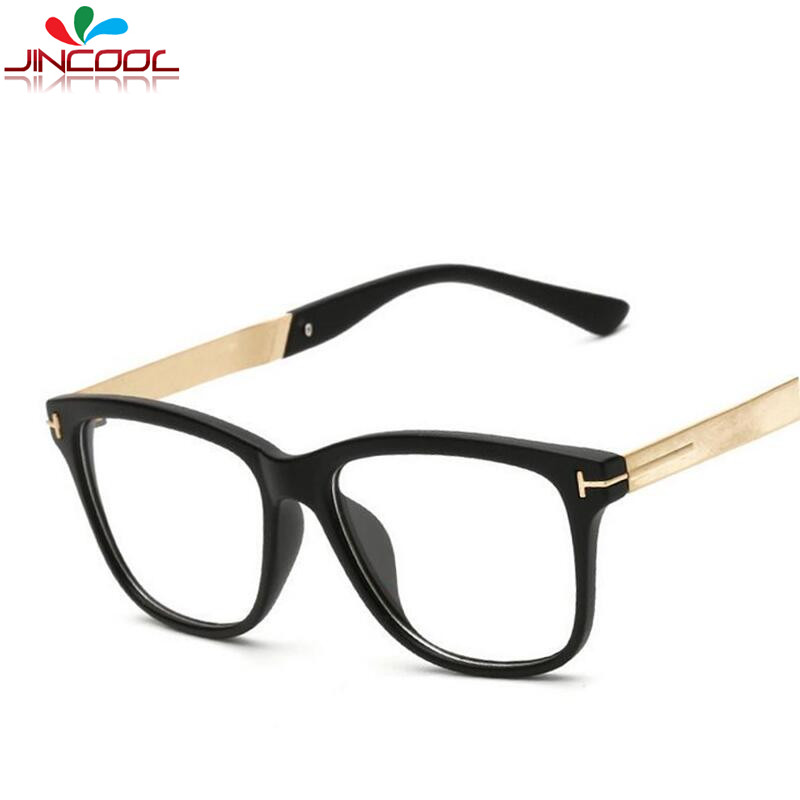 JinCool New Tom Designer Eye Glasses Men 2017 Top Quality Brand Eyeglasses Women Frames Optical Myopic Glasses Frame Oculos S365