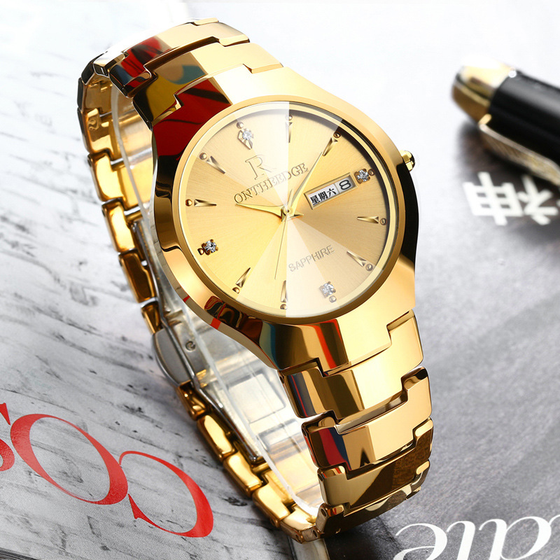 Reloj Hombre New Fashion Brand Watch Classic Quartz Watch Men Luxury Super Slim Stainless Steel Double Calendar Watches relogio все цены