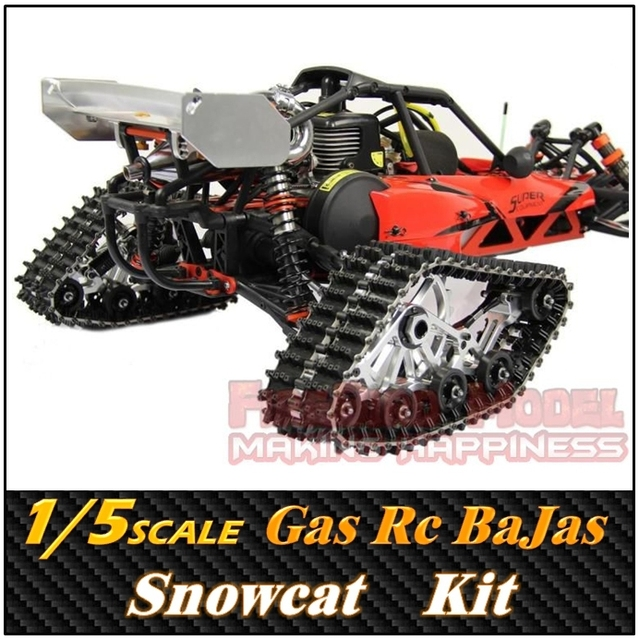 US $1180 0   Rovan 1/5 SCALE Gasoline Engine Remote control CNC Snowcat,  BaJa 5B ,RC Car/Truck ,Free Shipping-in Bajas from Toys & Hobbies on