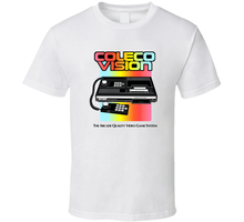 Coleco Vision, T-shirt, Video Game, Console, Retro, Intellivision, Atari 2600, A