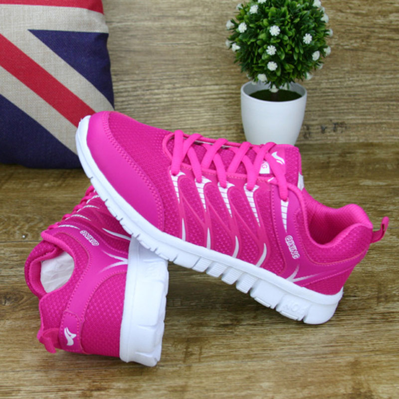 2017 New Autumn Shoes Women Casual Shoes Lace up Woman Sneakers Breathable Flat Footwear Female Mesh Shoes Fashion DT926 free shipping fashion loss weight women shoes spring summer autumn swing female breathable mesh shoes women casual shoes 2717w
