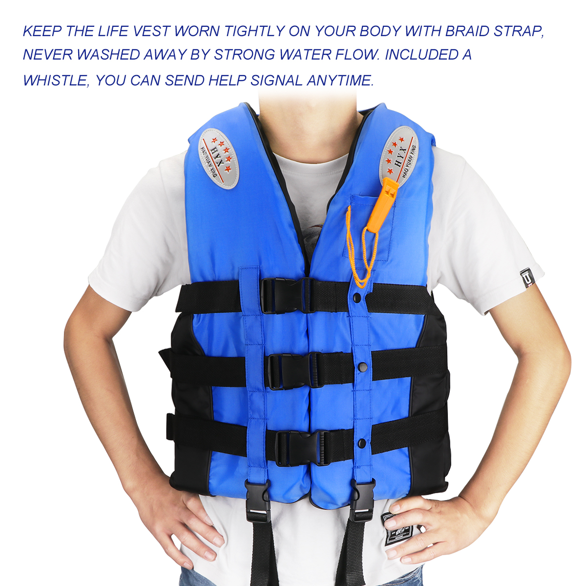 Swimming Surfing Buoyancy Aid Life Vest Outdoor Water Sports Survival Life Vests Safety Swimwear Jacket Adult Kids Boat Boating