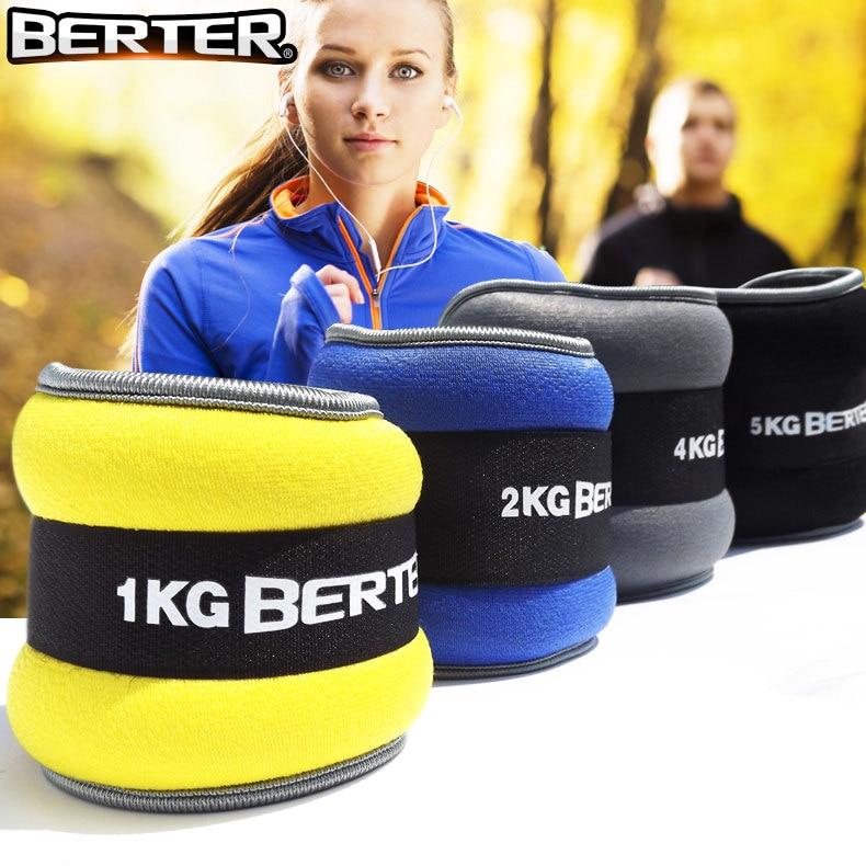 1 kg new esportes treinamento do peso do tornozelo saco de areia saco de areia pulso mão ponderada Alta Qualidade Frete Grátis