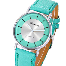Geneva Quartz Watch Women Fashion Casual Leather Sport Wrist Watches For Women Clock Ladies Watch bayan kol saati стоимость