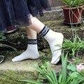 12 Pairs Мода Твердые 100% Хлопок Носки Предварительно дизайн Женщин Носки Осень Зима Теплая Удобные Сладкие Носки Смешные Носки