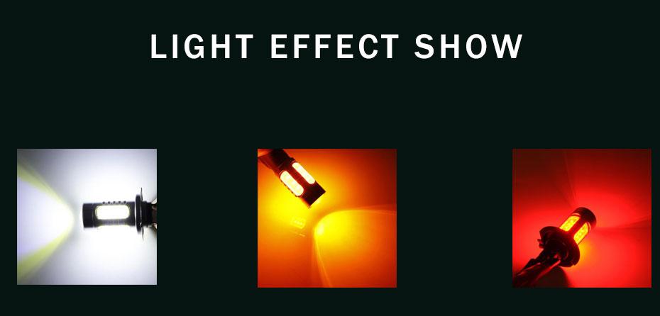 2X 1157 Strobe Bulbs 1156 Ba15S 1157 BAY15D Led COB 12V LED Light Car Turn Brake Strobe Flash Bulb Tail Light Led Lamp (9)