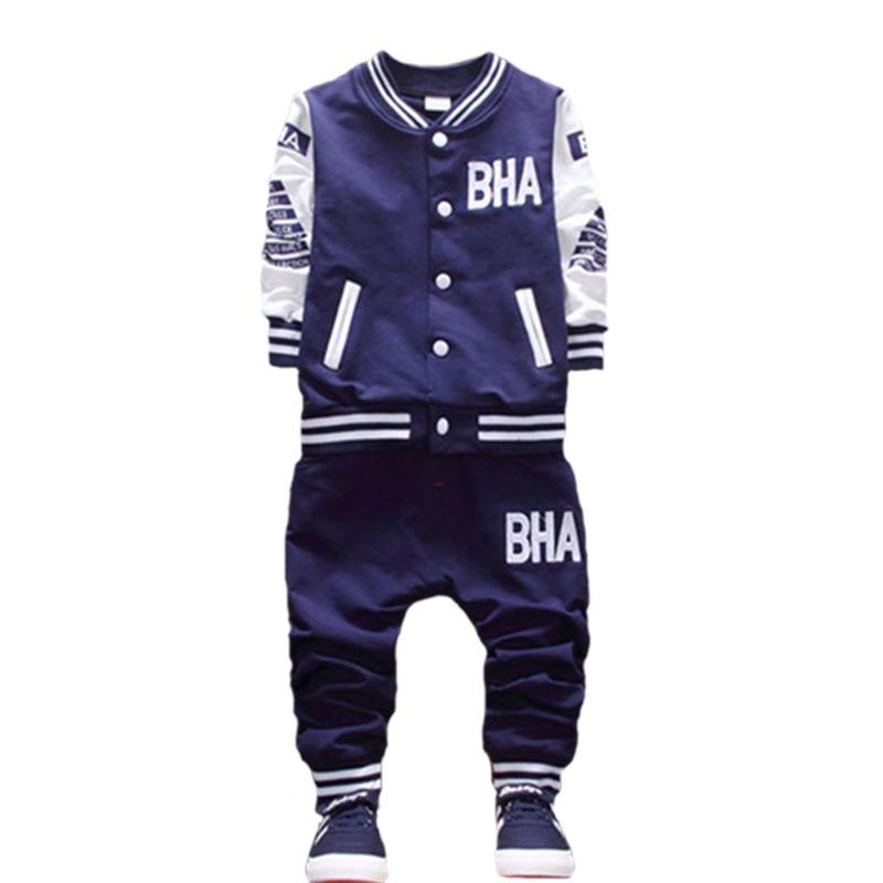 kis gyermek fiú ruhák tavaszi és őszi szezon öltöny új - Gyermekruházat - Fénykép 3