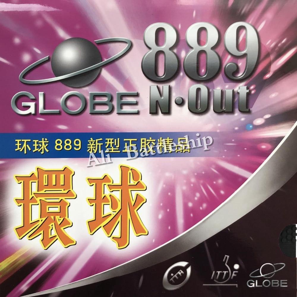 Caucho de ping-pong ping-pong pips-out original de Globe 889 con - Raquetas de deportes - foto 2