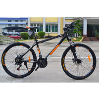 Bicycle Mountain Bike Hot Sale Men and Women 21 Speed 26 Inches Double Disc Brake Oil And Gas Fork No Rear Shock Absorber