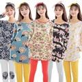 2016 Новый Осень Pijamas Enteros Pigiama Донна Пижамы Женские Пижамы Для Женщин Pijama женщина для Пижамы Женщин Pijama Набор Pigiama