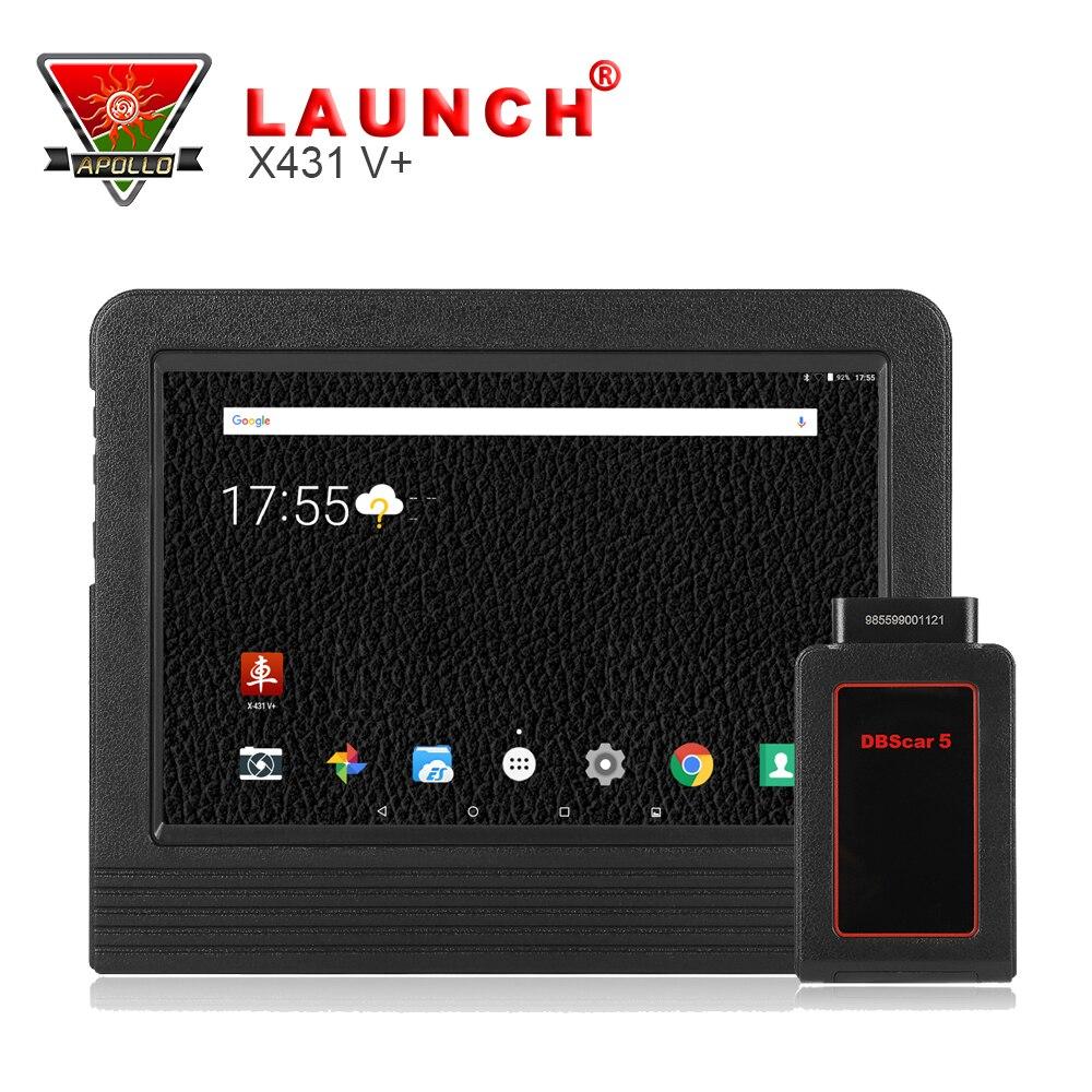 [Launch Distributor] Original Launch X431 V+ Wifi/Bluetooth Global Version Full System Scanner +X431 V Plus тестер аккумулятора launch x431