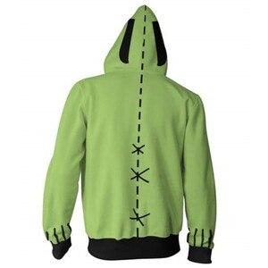 Image 3 - Anime Invader Alien Zim Hoodie Cosplay Movie Hoodie Sweatshirts 3D Men New