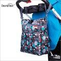 Cambio de pañales Bolsa de La Madre Maternidad Bebé Impermeable Cuidado Lun Mochila para Cochecito Organizador Travel Bolso de La Momia Bolsas de Pañales Del Bebé