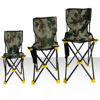 Nouveau 3 Tailles Professionnel Ultra-Léger Portable Pliant Camping Chaise De Pêche Fine Dossier Léger Durable Chaise De Pêche