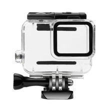 Waterproof Shell Cover Bracket Thumbscrew Replacement Diving Snorkeling for Gopro Hero 7 Silver/White Version Action Camera