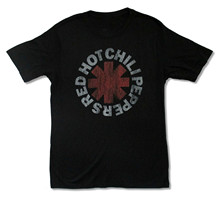 RED HOT CHILI PEPPERS VINTAGE ASTERISK BLACK T SHIRT NEW OFFICIAL ADULT where can i get