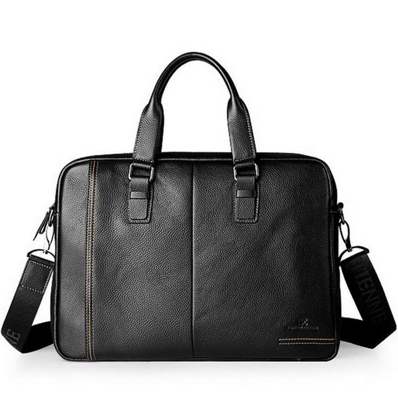 men messenger bags, big promotion genuine leather shoulder bag man bag casual fashion ipad briefcase, free shipping