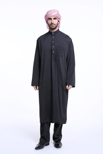 Muslim thobe ,Arab mens clothing Arab ,men robe Islamic abaya ,Dubai