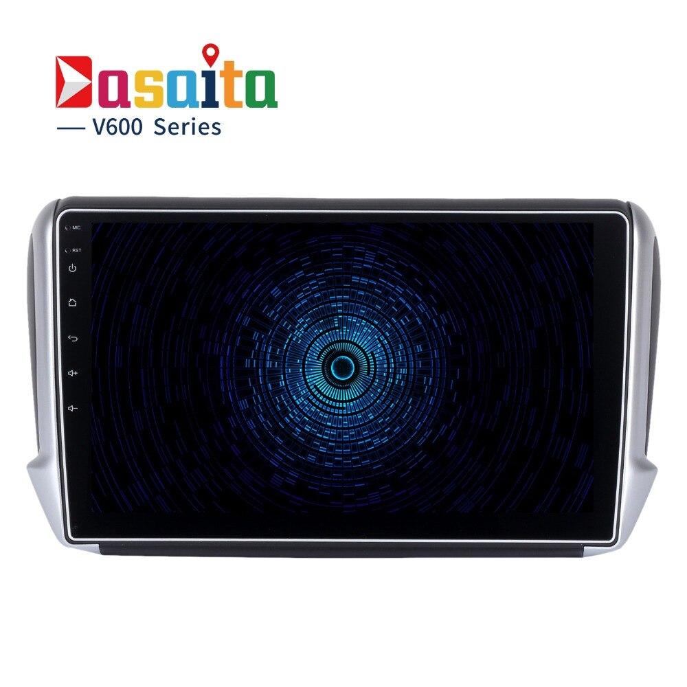 """imágenes para Dasaita 10.2 """"Android 6.0 Del Coche Dvd GPS para Peugeot 208 y 2008 2012-2016 con Octa Core 2 GB de Ram Auto de Radio Multimedia GPS NAVI 4G"""