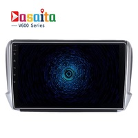 Dasaita 10 2 Android 6 0 Car GPS Player For Peugeot 208 With Octa Core 2GB