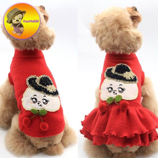 dog couple suit pet dress dresses dog pet clothes dogs christmas clothing pet skirt skirts maltese